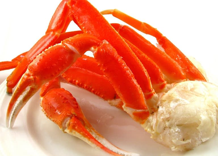 snow crab cluster