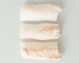 cod loin three pieces