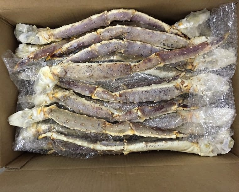 king crab norway legs raw