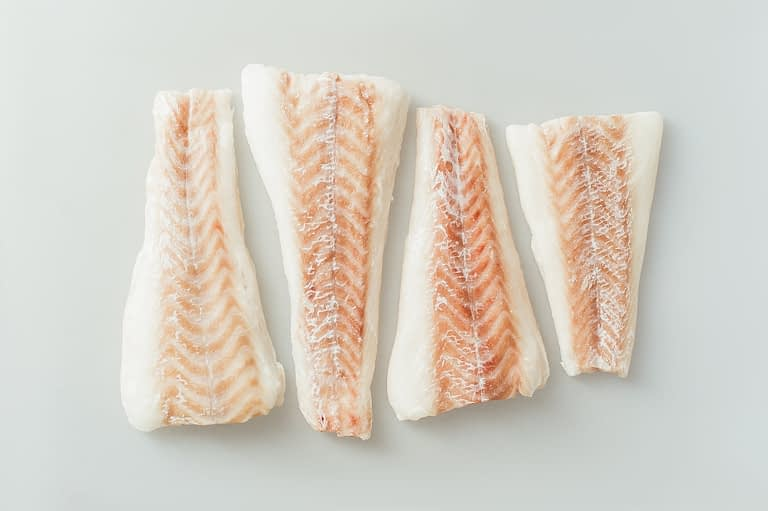 cod fillet frozen
