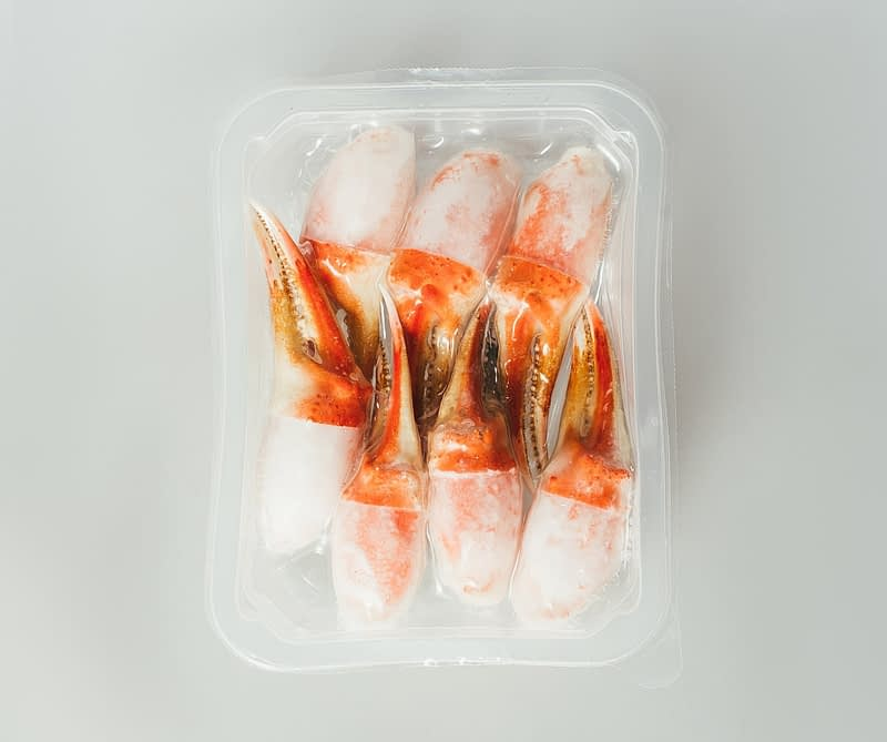 King Crab Claws packed